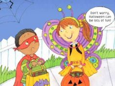 "Halloween Safety Tips from Joy Berry's ""Taking The Scary Out of Halloween""u"