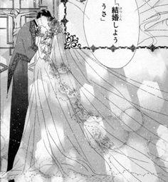 sailor moon and tuxedo mask wedding manga  moon and tuxedo mask we...
