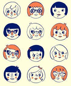 Cute illustrations.
