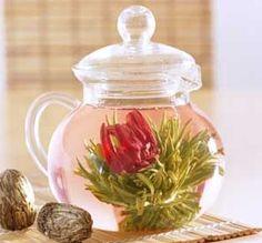 Flowering tea from Teavana