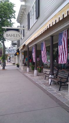 Bahle's ...my family has been shopping here for 3 generations! #shopping  - Suttons Bay, MI