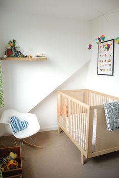 Asher's Modern & Clean in Aberdeen via Ohdeedoh  #oeufnyc #nursery #crib #baby