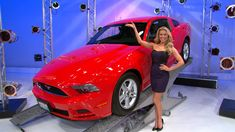 Just like for the red, white, and blue, your heart will beat true for this American classic ... a brand new mustang! It's the Ford Mustang V6 Coupe, featuring a 3.7 Liter Engine and 6-Speed Manual Transmission.  #BrandNewCar #RachelReynolds #ThePriceIsRight #PriceIsRight #Car #Red #Wheels #Nice