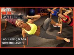 ▶ Fat Burning and Abs Workout Level 1 | BeFit in 30 Extreme - YouTube 22 min