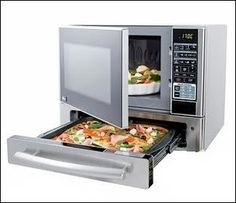 Pizza microwave oven.