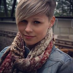 Short hair, undercut