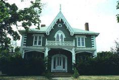 Gothic Revival House Salem MA1850 bc.edu