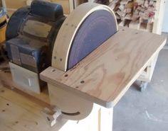 Lixadeira sanding machine on pinterest workbench ideas for 10 table saw sanding disc