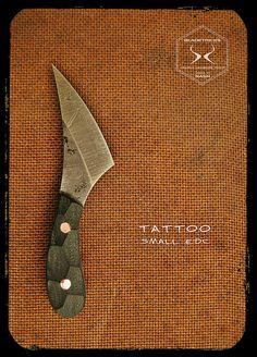 Bladetricks Tattoo Small EDC Custom Knife