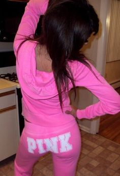 sweats and sweatshirts<3 Especially by VS PINK :)