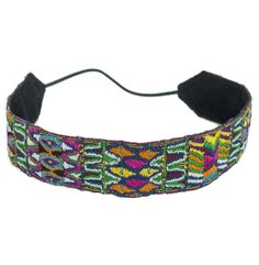 This handmade Patzun Headband is so cute.