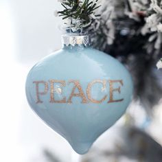 A hand-painted glass ornament captures everything that is beautiful about the season! Your friends and family will love this personal present: http://www.bhg.com/christmas/ornaments/easy-christmas-ornaments/?socsrc=bhgpin121713paintedglassornament&page=16