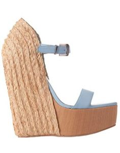 love this espadrille wedge
