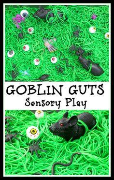 Goblin Guts Sensory Play
