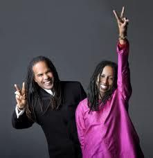 Rev Michael Bernard Beckwith, Ricki Byers Beckwith and Agape <3