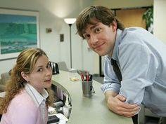 Pam Beasley and Jim Halpert - The Office.