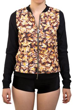 Bees GF Bomber - LIMITED by Black Milk Clothing $100AUD
