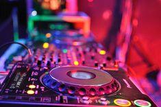 club, colorful, lights, music, neon