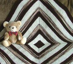 squar blanket, babi thing, knitting patterns, afghan, blanket free, blanket patterns, baby blankets, babi blanket, knit pattern