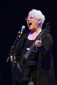 A feisty Janis Ian roars onstage during a performance on March 17 in Birmingham, England