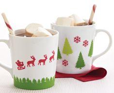 Martha Stewart Christmas Mugs