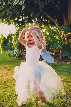 fairy flower girl, photo by Jackie Wonders http://ruffledblog.com/sweet-dreams-inspired-shoot #flowergirl #wedding