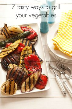 7 tasty ways to grill your vegetables