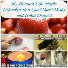 30 Pinterest Life-Hacks Debunked – This is Great!
