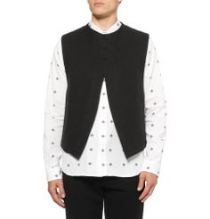 Ann Demeulemeester.  It's a men's vest but I want one.