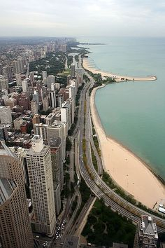 Chicago. View from such great heights