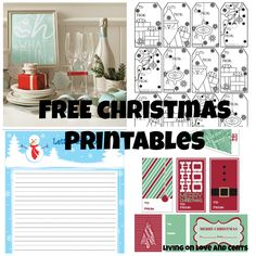 Free Christms Printabes  (From Snapfish & HP #HPFamilyTime #Sponsored)