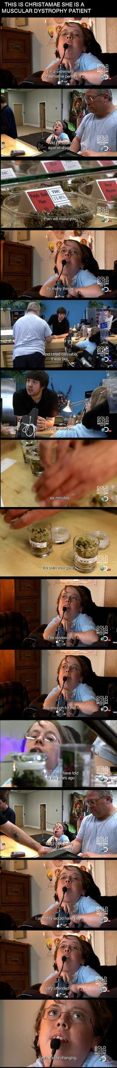 This is very motivational. Medical Cannabis.