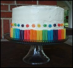 Ucreate Parties: Rainbow Birthday Party