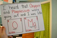 Great science humor!  #Hilarious #healthhumor #periodiclove