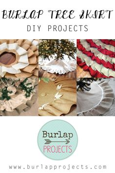 Burlap Tree Skirt DI