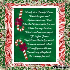 Meaning of the Candy Cane on Pinterest | Happy 40th Birthday, Candy ...