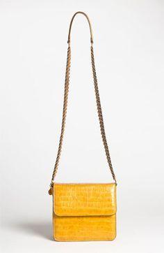 Stella McCartney Faux Croc Crossbody Bag