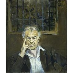 Portrait of Emery Reves, Graham Sutherland, 1966, Dallas Museum of Art