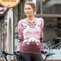 YMX/Yellowman Women's Core Long Sleeve Cycling Jersey
