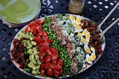 Alison Chino's AMAZING Cobb Salad With Edamame, Prosciutto and Bacon