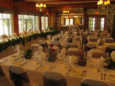 Romantic Weddings - The Tables are Set