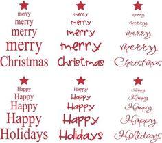 A Vinyl Design: Merry Merry Merry Christmas!