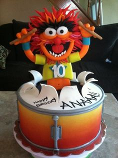 Animal Muppets Cake