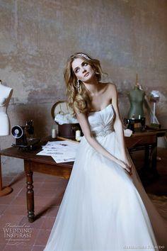 http://weddinginspirasi.com/2012/02/13/alessandra-rinaudo-wedding-dresses-2012/2/  alessandra rinaudo #wedding dress 2012  #weddings #weddingdress