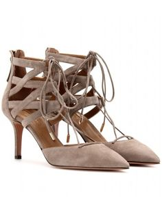 Aquazzura - BELGRAVIA SUEDE STILETTO PUMPS  - mytheresa.com GmbH