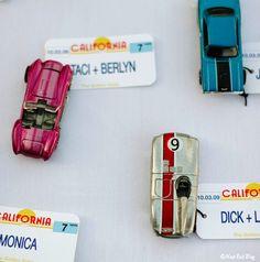 toy car #wedding place cards http://paratinovia.com/thank-you-creative-favor-ideas