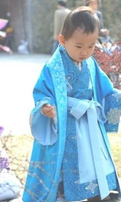 Custom Made Traditional Chinese Hanfu Clothing for Kids