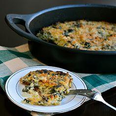 Quinoa and Kale Gratin