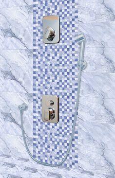 Bathroom Tiles - http://orientbell.com/bathroom-tiles.php