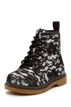 Lace Combat Boot by Crazy For Combat Boots!